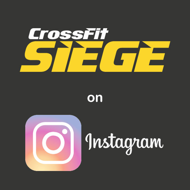 CrossFit Siege on Instagram